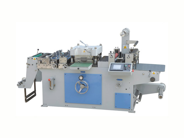 LX-320型自动不干胶商标模切机